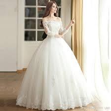 custom wedding dress discount sleeve muslim wedding dress 2017 princess bride simple