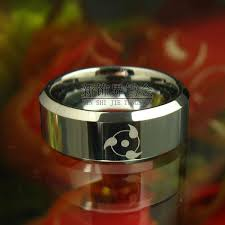 anime wedding ring new decoration sector tungsten rings gold ring anime ring
