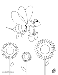 bee coloring sheets corpedo com