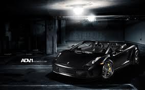 matte black lamborghini matte black lamborghini gallardo spyder adv1 wallpaper hd car