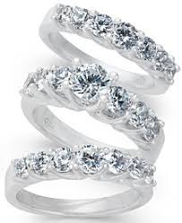 Wedding Set Rings by Bridal Set Womens Engagement And Wedding Rings Macy U0027s