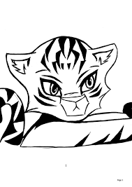 anime baby tiger cute pics