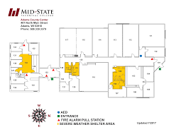 Stevens Campus Map Locations Mid State Technical College