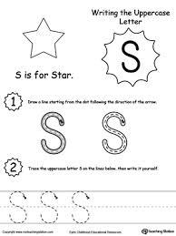 preschool letters printable worksheets myteachingstation com