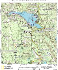 New York Appalachian Trail Map by Trail Maps Story Of The Yawgoog Trails