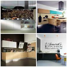deco mur cuisine moderne cuisine deco noir et blanc photos de design d intérieur et