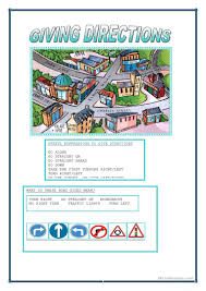 76 free esl giving directions worksheets