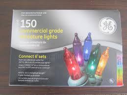 ge led christmas lights 150 large outdoor christmas lights