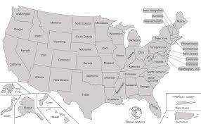 map usa states template map usa states template