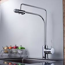 kitchen faucet water filter contemporary solid brass water purifier kitchen faucet