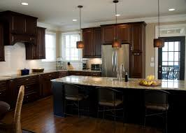 transitional eat in kitchen with spacious island this spacious
