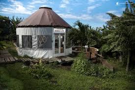 Yurt House Luxury Yurt On Oahu