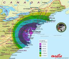 usa east coast map east coast map map