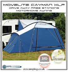 Free Standing Motorhome Awning New Blue Movelite Xlf Xl Cayman Free Standing Motorhome Awning