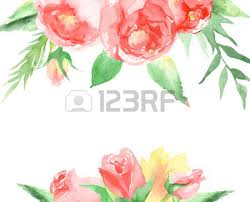 wedding flowers drawing floral background for wedding with text menu colorful floral