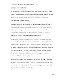 summary ideas for resume pancreatitis ncm 103