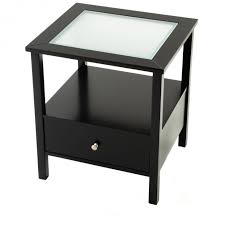 black glass top end tables bed and bath narrow end table with drawers that very cute to