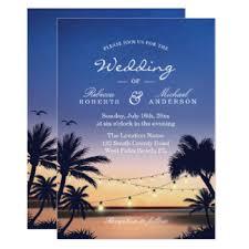 wedding invitations hawaii hawaii wedding invitations announcements zazzle