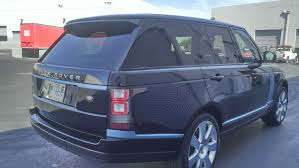 white wrapped range rover range rover matte blue u2014 incognito wraps