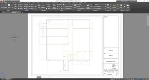 how to draw floor plan in autocad autocad 2016 quickly start a new drawing with design center