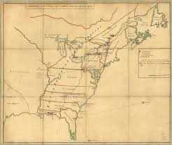 Map Of Eastern Ohio by 1765 To 1769 Pennsylvania Maps