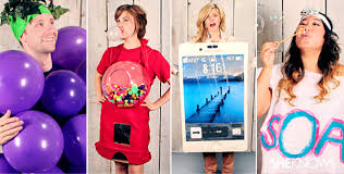 Halloween Costume 2 Girls Diy Halloween Costume Ideas U0027re Super Easy
