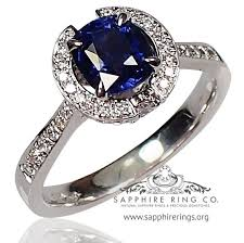 color sapphire rings images Untreated sapphire ring 18 kt 1 61 ct round jpg