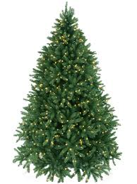 7 5 foot pine downswept pre lit artificial tree