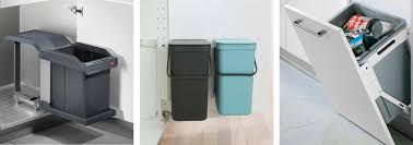 kitchen trash cans and recycling bins what to look for
