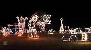 benson nc christmas lights 2011 12 17 meadow lights youtube