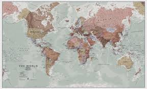 wall maps wall map world executive wm671a maps international