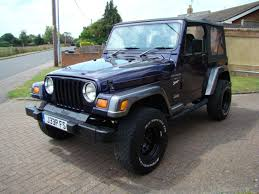 jeep wrangler unlimited sport soft top used jeep wrangler 4 0 sport soft top for sale in leighton buzzard