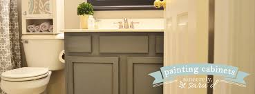Painting Bathroom Cabinets Ideas Painting Bathroom Cabinets With Chalk Paint Home Design Ideas