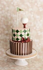 vintage golf birthday cake cake by bliss pastry cakesdecor