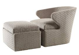 Aaron Upholstery Lorae Swivel Lounge Chair Transitional Lounge Chairs Dering Hall