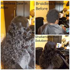 the best way to sew a hair weave 27 best braidless sew in hair extensions orlando images on