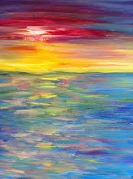 best 25 sunset paintings ideas on pinterest canvas painting