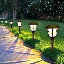 Landscape Lights Lowes Solar Powered Garden Lights Lowes Hydraz Club