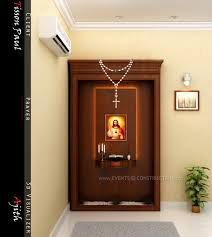 evens construction pvt ltd prayer area