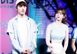 k pop couple fantasy apink u0027s chorong and exo u0027s suho u2022 kpopmap