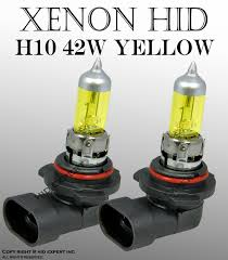 Gas Light Bulbs H10 9140 9145 42w Fog Light Xenon Yellow Direct Replacement Light