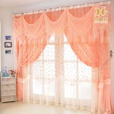 Rustic Curtains And Valances Aliexpress Com Buy Romantic Wedding Room Window Curtains Quality