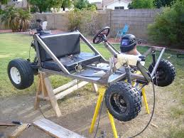 dune buggy go kart cart assembly plans how to build homebuilt