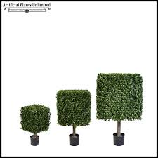 boxwood artificial topiary trees artificial plants unlimited