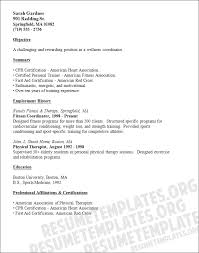 Resume Examples For Physical Therapist by Cpr Instructor Cover Letter