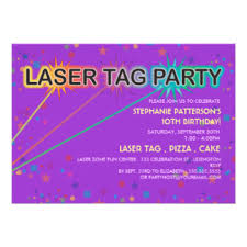 laser tag birthday gifts on zazzle