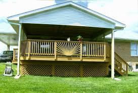 cool deck railing ideas house design and planning