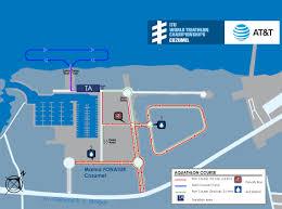 Cozumel Map Course Maps Itu World Triathlon Grand Final Cozumel 2016