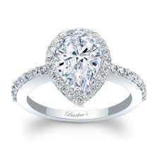 gold pear shaped engagement ring barkev s white gold pear shaped engagement ring 8061l
