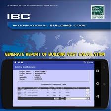 International Building Code Building Cost Estimator Android Apps On Google Play